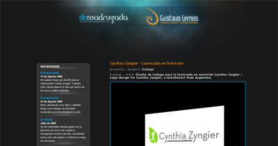 demadrugada Website Screenshot