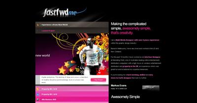 fastFwd 2008 Website Screenshot