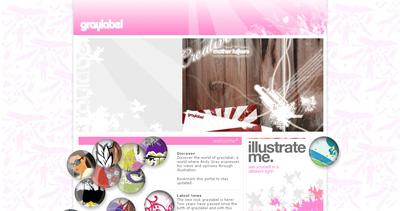 Graylabel Website Screenshot