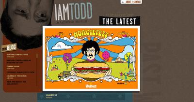 Todd Miller Website Screenshot