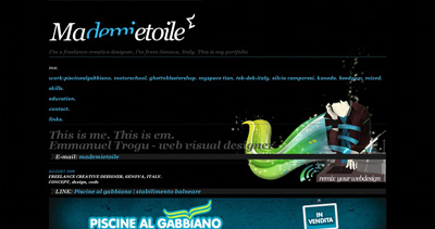 Ma Demi Etoile Website Screenshot