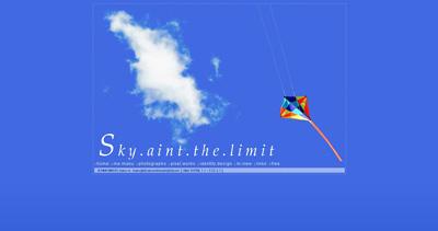 sky.ain't.the.limit Website Screenshot