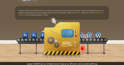WPCoder Website Screenshot