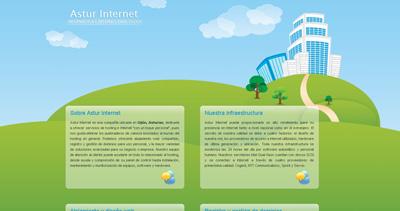 Astur Internet Website Screenshot