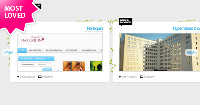 Daniel Stenberg Website Screenshot