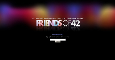 Friends of 42 Website Screenshot