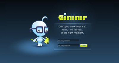 Gimmr Website Screenshot