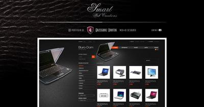 Grzegorz Bratek Website Screenshot