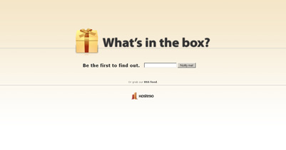 Hosteeo Website Screenshot