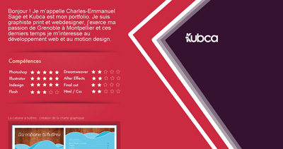 Kubca Website Screenshot