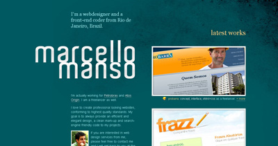 Marcello Manso Website Screenshot