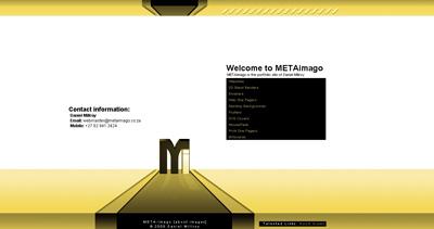 METAimago Website Screenshot