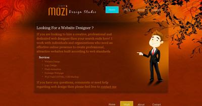 Mozi Website Screenshot