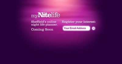 myNiteLife Website Screenshot