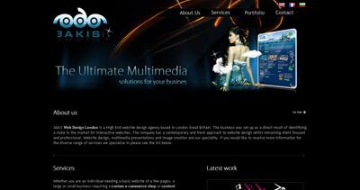 3AKIS Website Screenshot