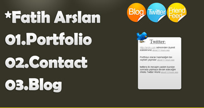 Fatih Arslan Website Screenshot