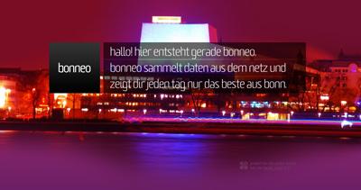 bonneo Website Screenshot