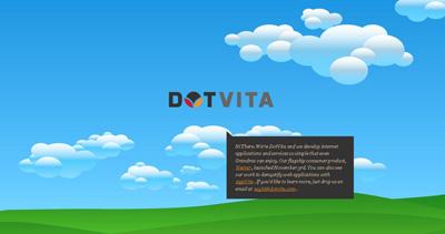 DotVita Website Screenshot