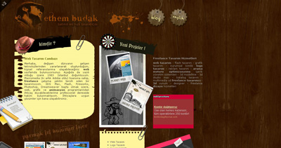 Ethem BUDAK Website Screenshot