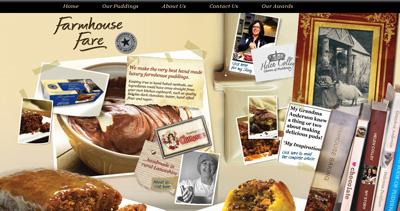 Farmhouse Fare Website Screenshot
