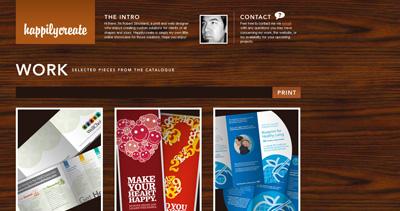 happilycreate Website Screenshot