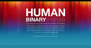 Human Binary Thumbnail Preview