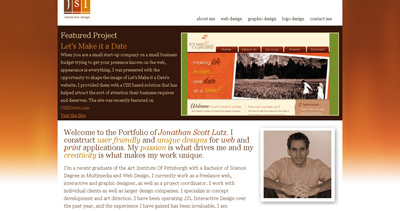 JSL Interactive Design Website Screenshot