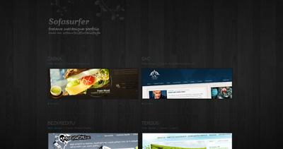 SofaSurfer Website Screenshot