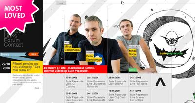Suie Paparude Website Screenshot