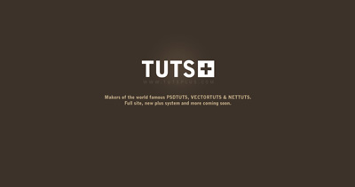 TUTSPLUS Website Screenshot