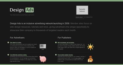 Design Ads Website Screenshot