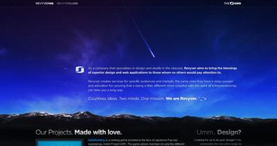 Revyver Website Screenshot