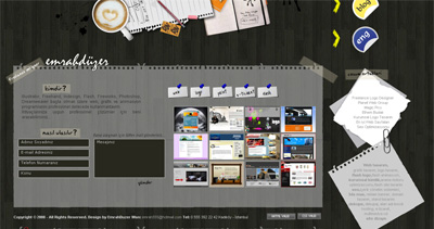 Emrah Duzer Website Screenshot