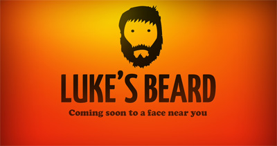 Luke's Beard Website Screenshot