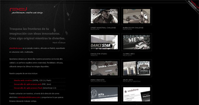 plastikdreams Website Screenshot