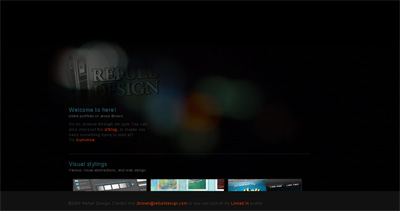 Refuel Design Website Screenshot