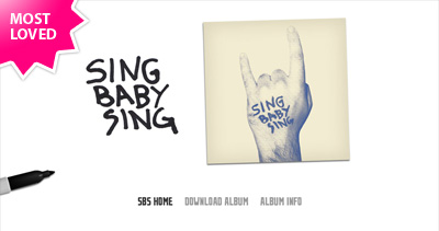 Sing Baby Sing Website Screenshot