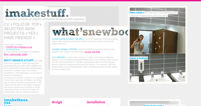 imakestuff Website Screenshot