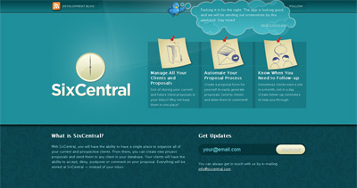 SixCentral Website Screenshot