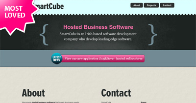 SmartCube Website Screenshot