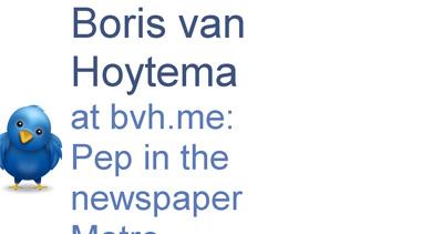 Boris van Hoytema Website Screenshot