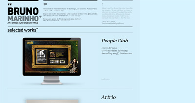 Bruno Marinho Website Screenshot