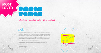 Emrah Yaman Website Screenshot