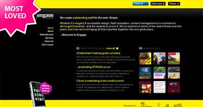 Engage Interactive Website Screenshot
