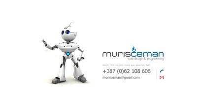 Muris Ćeman Website Screenshot