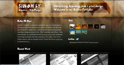 Simon Ly Website Screenshot