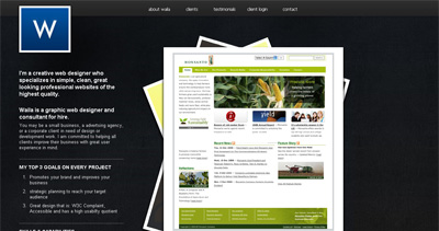 Waila Skinner Website Screenshot