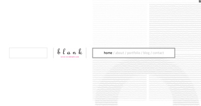 blank Website Screenshot