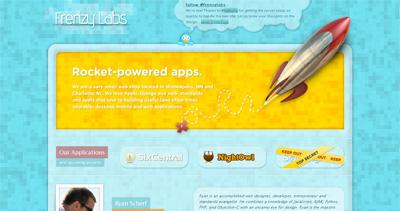 Frenzy Labs Website Screenshot