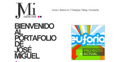 Jose Miguel Arnaldos Website Screenshot